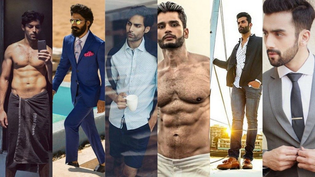New indian male models