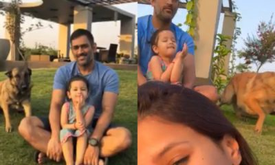 MS Dhoni's New Video For His Family Is Winning The Internet