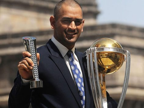 On This Day In 2011 MS Dhoni Won World Cup And Today After Seven Years, He Will Be Honored With Padma Bhushan