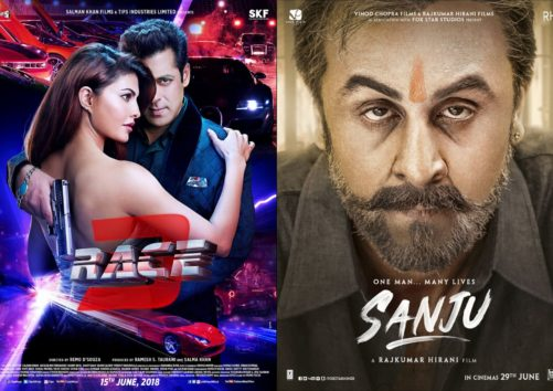 One Month Two Big Films: Here Are The Box Office Predictions Of Sanju & Race 3