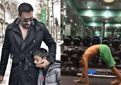 Ajay Devgn's Son Yug Accepts Fitness Challenge, Leaves Every Bollywood Celebrity Behind With His Workout Video