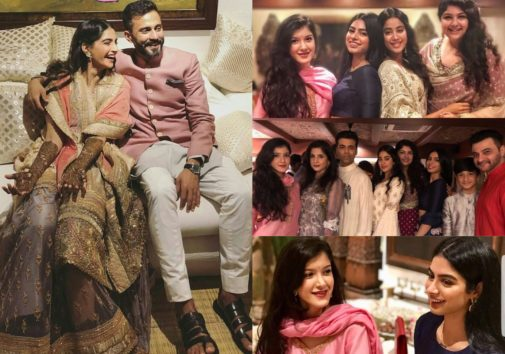 Pictures You Shouldn't Miss From Sonam Kapoor's Mehandi Ceremony