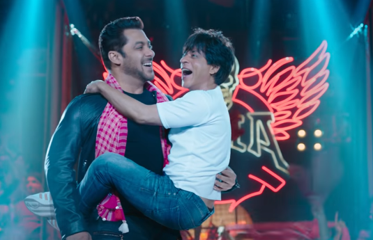 Zero Teaser We're In Love With This Funny Banter Between Shahrukh Khan And Salman Khan
