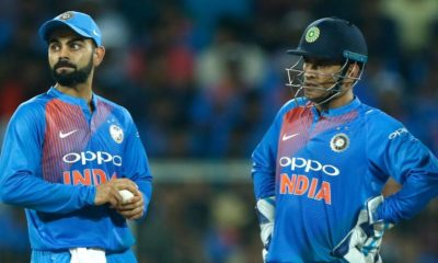 Virat Kohli Defends MS Dhoni Delivers A Perky Speech In Favor Of The Former Captain