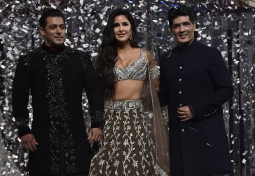 Pictures A Shimmering Salman Khan And A Lovely Katrina Kaif Are Showstoppers For Manish Malhotra