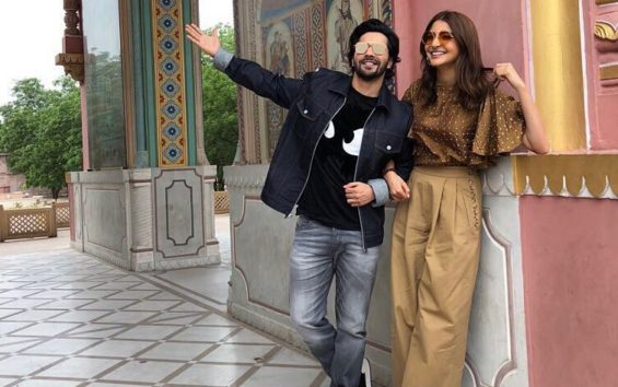 Pleased With Memes, Varun Dhawan Gives A New Name To Co-star Anushka Sharma