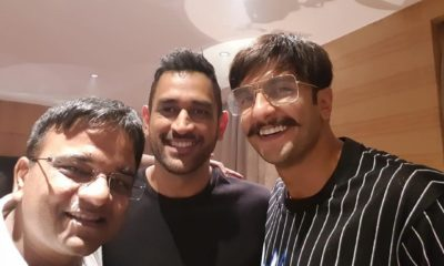 After A Long Wait, Ranveer Singh Finally Meets His 'Jaan' MS Dhoni