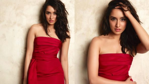 Pictures Shraddha Kapoor Ridiculously Hot In Red For Stree Success Bash