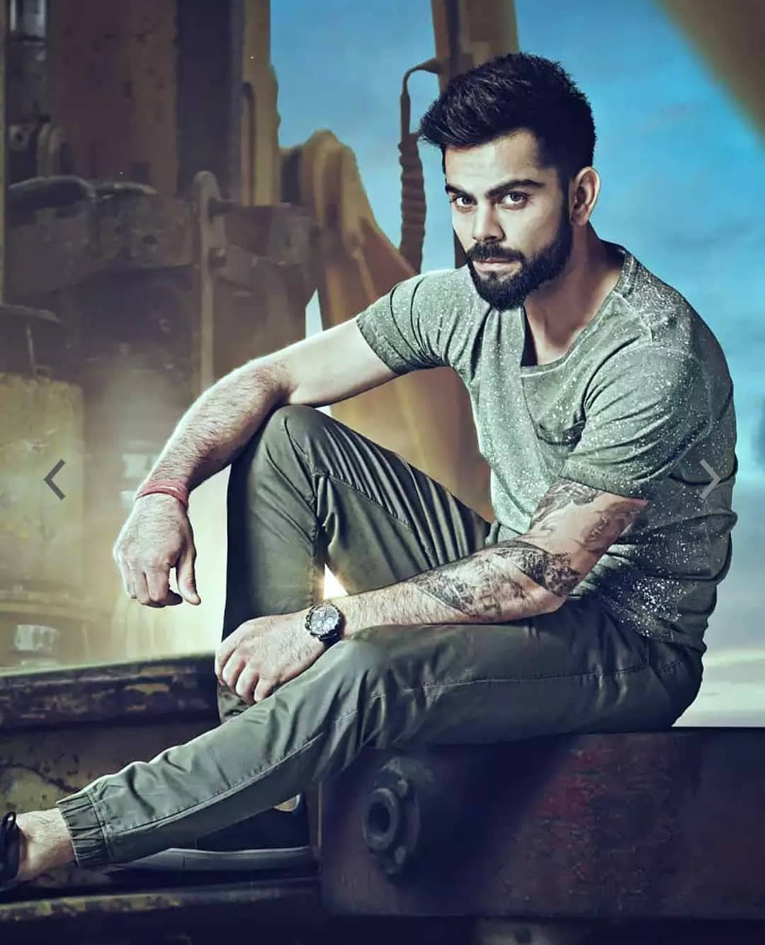 Rested From The Asia Cup, Virat Kohli Announces Acting Debut With A Dominant Poster.