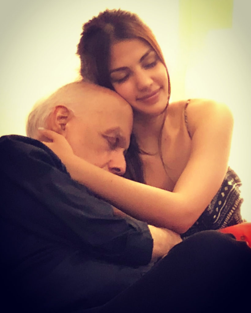 Rhea Chakraborty Gets Trolled For Sharing Cozy Pictures With Mahesh Bhatt (2)