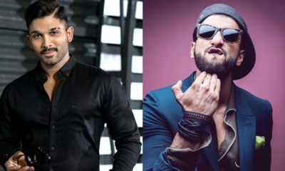 South Superstar Allu Arjun Will Likely Make His Bollywood Debut With Ranveer Singh