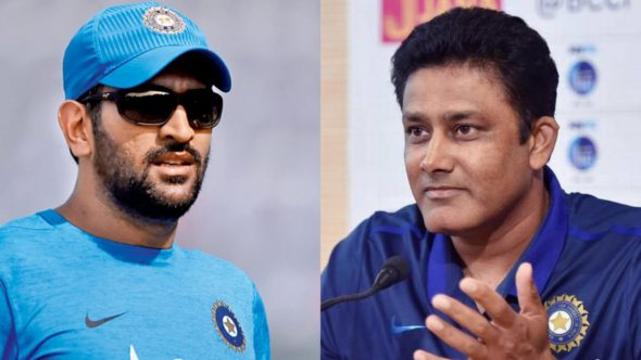 Anil Kumble Backs MS Dhoni, says India Can't Keep Depending On Him To Be The Finisher