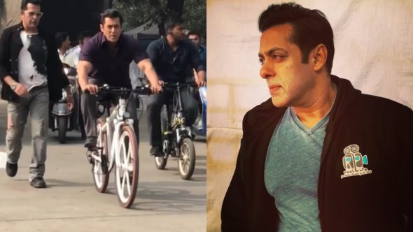 Delhi Celebrates As Salman Khan Makes It To The Streets To Shoot For His Upcoming Movie Bharat