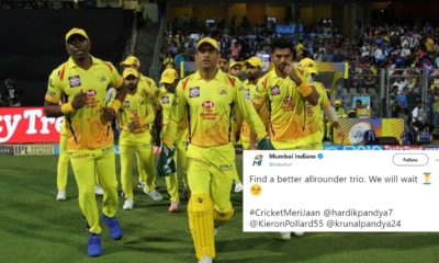 Mumbai Indians & Sunrisers Hyderabad Twitter Banter Gets Hilariously Trolled By Chennai Super Kings