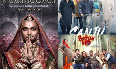 As We Bid Adieu To 2018, Here Is A Look At Biggest Bollywood Hits Of The Year