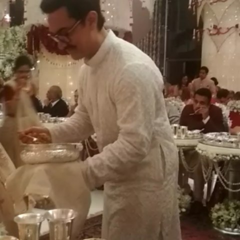 Mystery Solved! This Is The Real Reason Why Celebs Served Food At Isha Ambani's Wedding (2)