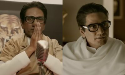 Thackeray Trailer Nawazuddin Siddiqui Effortlessly Displays His Versatility As Balasaheb Thackeray