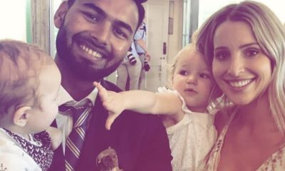 Twitter Goes Berserk As Rishabh Pant Turns Babysitter For Tim Paine's Kids