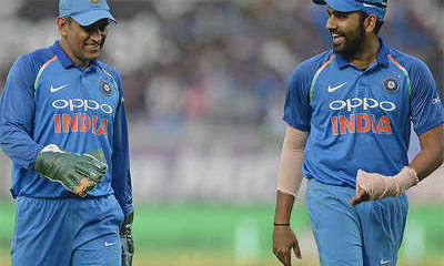 Vice-Captain Rohit Sharma Speaks On The Role That MS Dhoni Plays In The Team