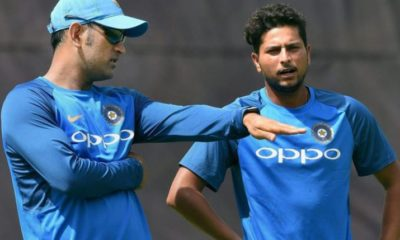 Kuldeep Yadav MS Dhoni Is A Game Changer, We're Lucky To Have Him
