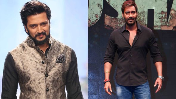 Riteish Deshmukh Fails Brutally As He Tries To Troll The Mighty Singham Ajay Devgn