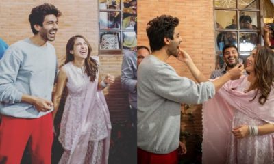 Kartik Aaryan & Sara Ali Khan Treat Fans With Adorable Instagram Posts