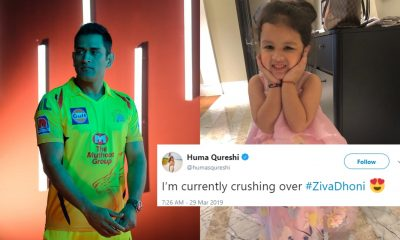 MS Dhoni's Daughter Ziva Dhoni Is The Newest Internet Sensation
