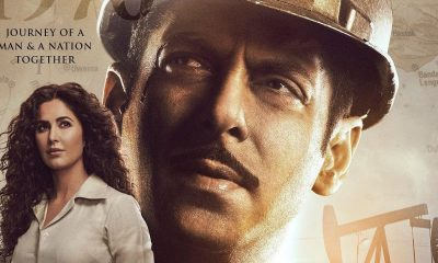 Bharat New Poster Salman Khan Is In Awestruck Of Katrina Kaif