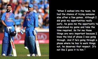 Virat Kohli's Respect Towards MS Dhoni Is Of Next Level, Read His Statement On Captain Cool Playing World Cup
