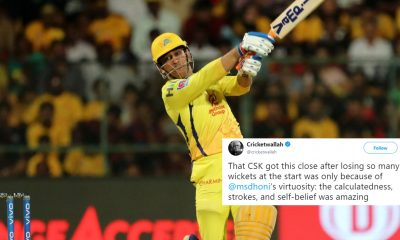 Virat Kohli Wins Thriller Against CSK But It Was MS Dhoni Show At Chinnasawamy Stadium